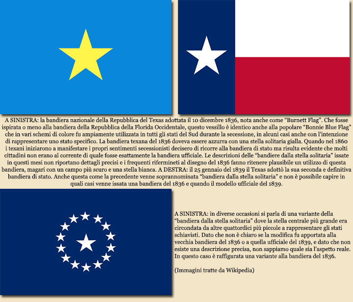 Le Bandiere Degli Stati Secessionisti Alabama Arkansas Florida